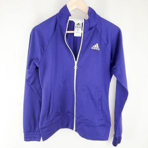 Adidas zip up sweatshirt/jacket small
